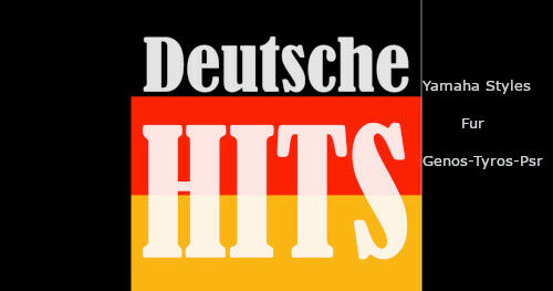 """Styles Für Yamaha Genos Tyros /& Psr s//sx /"""" Deutschlands Top Schlager /"""""""