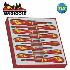 Teng-10pc-Insulated-VDE-Screwdriver-Set-1000V-TTDV910N-Tool-Control-System