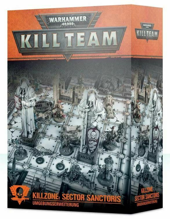 Warhammer 40.000 Kill Zone Sector Sanctoris (Alemán) Terreno Kill Team Mate