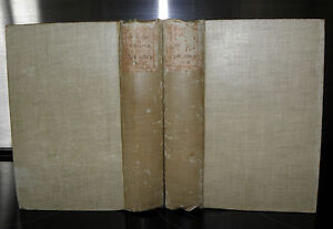 The-History-Of-Tom-Jones-A-Foundling-Henry-Fielding-2-volumes-c1900-HB