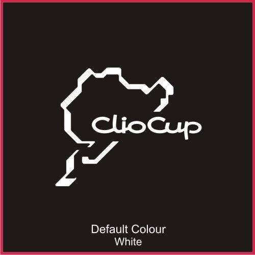 Track Sticker Vinyl Graphics N2021 Nurburgring Clio Cup Race Circuit Decal