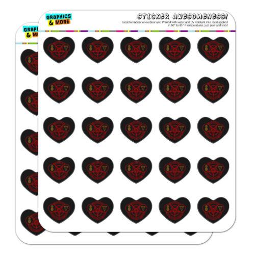 Pineapple Pizza Pentagram Unholy Combo Heart Planner Scrapbook Craft Stickers