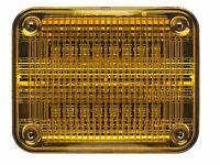 Whelen 900 Series Amber Super Led, Amber Lens - 90aa5far -