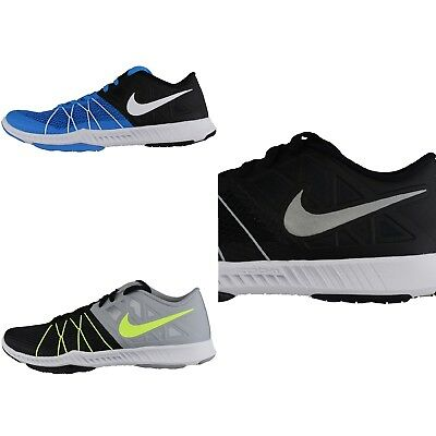 92bf7bbd271e Nike Zoom Train Incredibly Fast Black Silver Men Cross Training ...