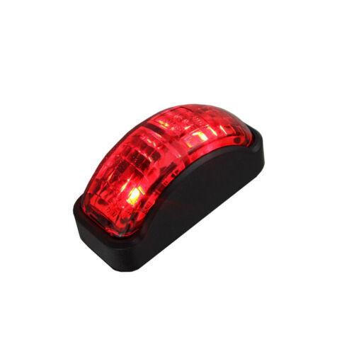 8 x Red SMD LED Rear Side Marker Light Position for Truck Trailer Lorry 12V-24V