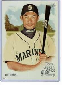 Ichiro 2019 Allen and Ginter 5x7 #60 /49 Mariners