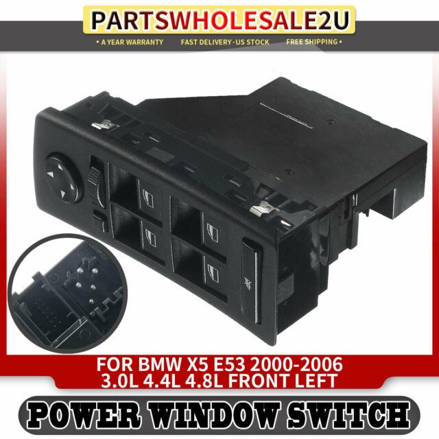 Power Window Switch For Bmw X5 E53 2001  Auto Dimming Mirrors