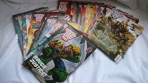 Sci-Fi-Comic-Collection-Job-Lot-Comics-Judge-Dredd-2000AD-x-21-Issues