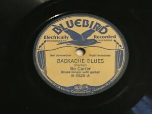 Bo-Carter-Backache-Blues-Nobody-Knows-My-Baby-V-78-Bluebird-5825