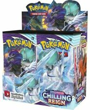 POKEMON SWORD & SHIELD CHILLING REIGN BOOSTER BOX SEALED *CANADA ONLY* SHIP 6/18