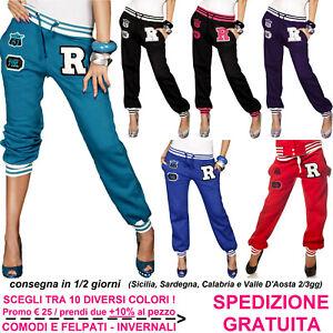 Pantaloni-Tuta-da-Donna-Sportivi-per-Casual-Sport-Palestra-Fitness-Jogging-Corsa
