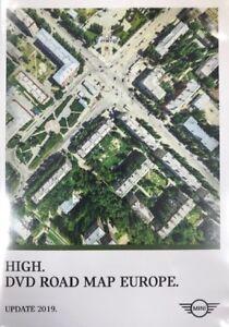 Mini Update-Dvd 2019 BMW Road Map Europe High Mini R50 - R53 New ...