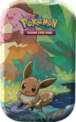 Evoli Deutsch Pokemon Kanto-Freunde Mini-Tin-Box 1 Box