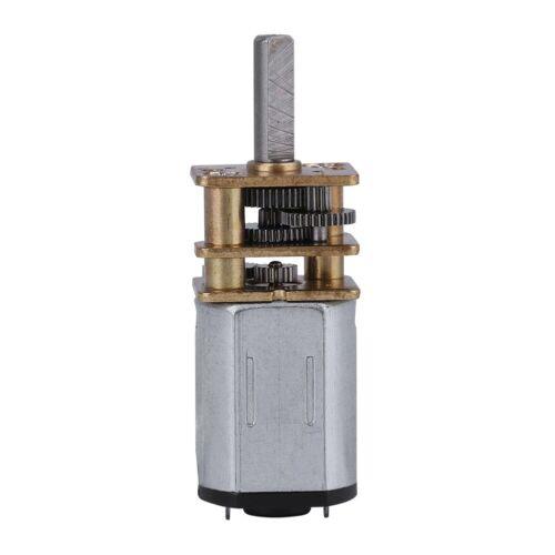 N20 DC3V 6V 12V Untersetzungsgetriebe Gleichstrommotor mit Metallgetriebe 150RPM