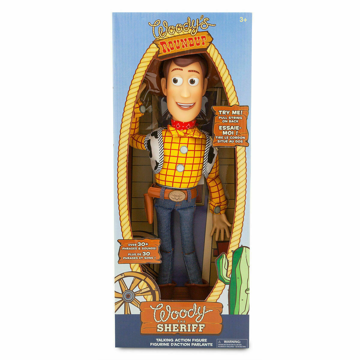 Brand new Toy Story WOODY Doll 16  Pull String Talking Action Figure Kids Gift