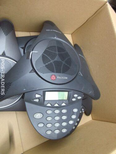 Polycom SoundStation IP4000 2201-06642-601 SIP Conference Phone LCD Speakerphone