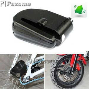 Anti-theft Wheel Brake Disc Lock Alarm Security Motorcycle Bike Scooter Bicycle