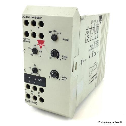 Protection Relay EUBC400 Carlo Gavazzi EUB-C-400 *New*