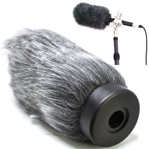 Pro Furry Shotgun Deadcat Microphone Windscreen Muff Wind Cover f Rode NTG4+ Mic