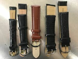 Genuine-Leather-Watch-Band-Strap-Interchangeable-Quick-Release-Womens-Mens