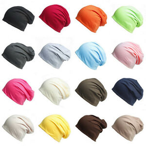 Unisex-Womens-Mens-Knit-Winter-Warm-Ski-Crochet-Slouch-Hat-Cap-Beanie-Oversized