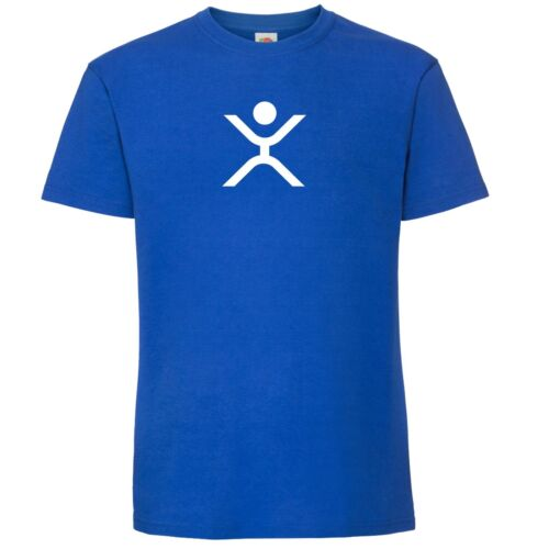 T-Shirt New Logo Symbol Crypto by My Cup Of Tee Ripple XRP Happy Stickman