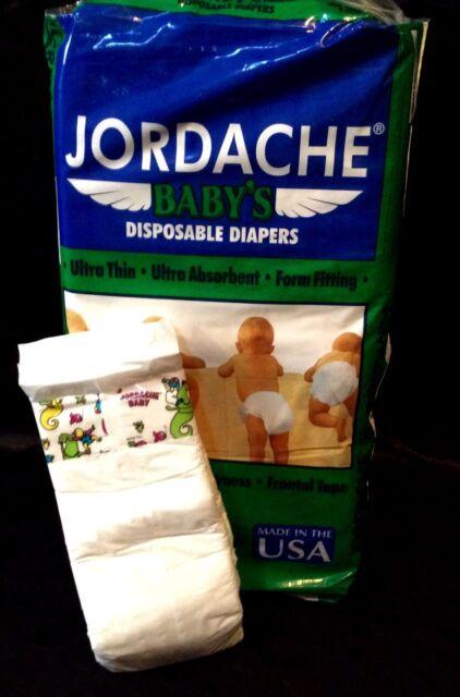 Vintage Jordache Diaper Sz XL Plastic Backed