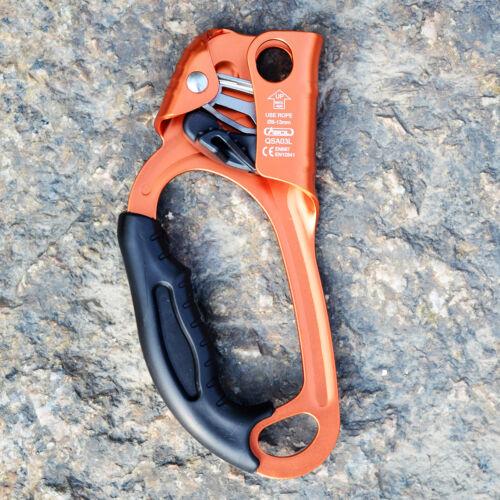 Professional Left Hand Ascender for Wall Tree Rock Climbing Arborist Caving Gear