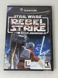 Star Wars Rebel Strike Rogue Squadron III Nintendo GameCube 2003 Video Game Work