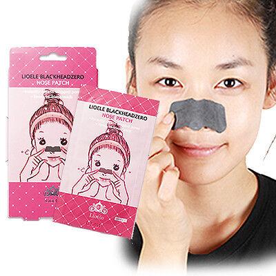 [LIOELE] Nose Pack BlackHead ZERO Nose Patch / 5pcs