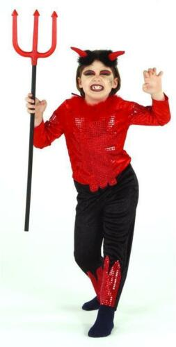 Rubies Mardi Gras Costume Enfants Diable Deluxe edelteufel 2825 #brandtoys