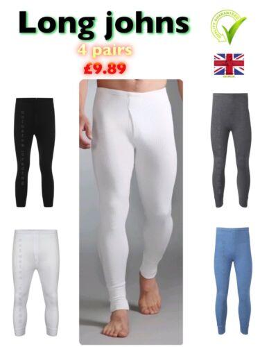 Mens Thermal Pantalon Long Johns Sous-Vêtements Chaude Sous-vêtement S M L XL XXL Thermals