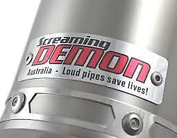 Honda CB400 S//F//Vtec Superfour 08-16 Screaming Demon Short S//S S//O Oval Exhaust