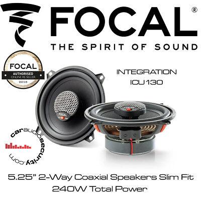 """Focal ISU130-integración 130 mm//5.25/"""" 2-Way Componente Altavoces Slim"""