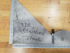 330 Stainless Steel Ss Plate 38 Thick Price By Square Inch See Pictures
