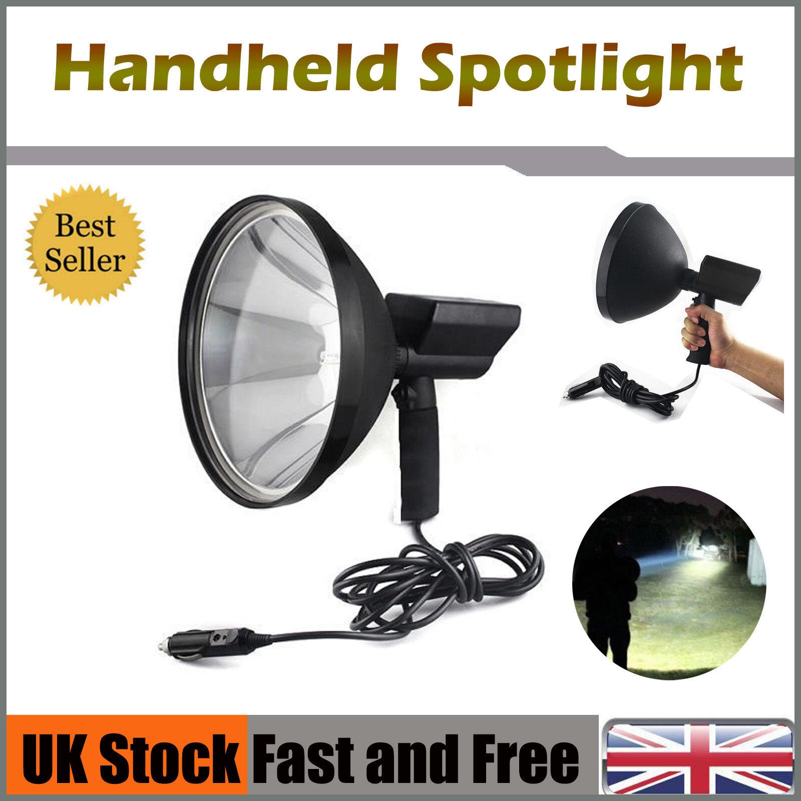 Handheld Hunting Spot Light Lamp Lamping Foxing Shooting Boating Camping 100W