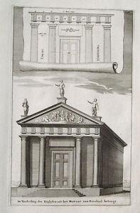 Fries Architektur architektur griechenland tempel portal säule tryglyph fries rhodos
