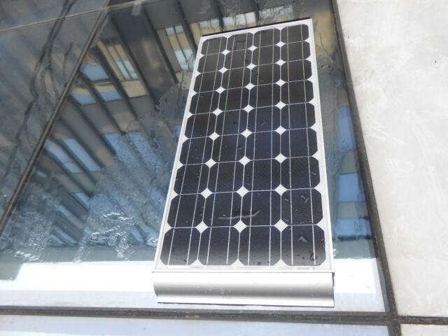 550mm Aluminium Silver Bracket Mount Solar Panel Caravan Boat RV 2 for 1set