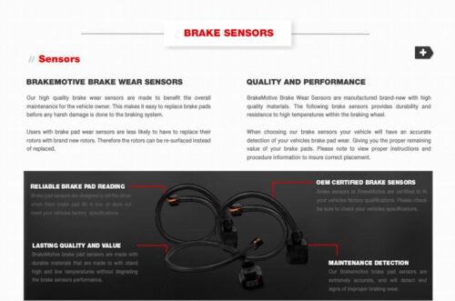Front+Rear Brake Rotors /& Ceramic Pads For 2002 2003 2004 2005 2006 Mini Cooper