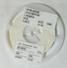 10000pcs NIC Components Corp. Resistor 47.5 Ohm 1/16W 1% 0402 NRC04F47R5TRF NEW