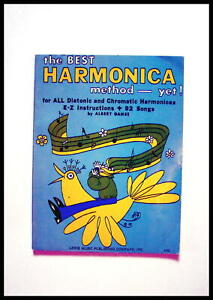 """RARE COLLECTABLE 1971  """"THE BEST HARMONICA """" FOR CHROMATIC  HARMONICAS"""
