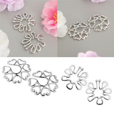 Non Pierced Clip Nipple Ring Adjustable Shield Cover  Body Piercing·Jewelry kc