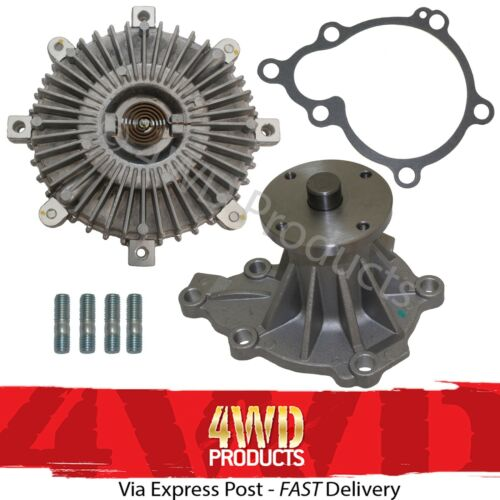 Ford Courier PC PD PE PG PH//Mazda B2600 2.6P G6 Water Pump//Fan Clutch 90-06