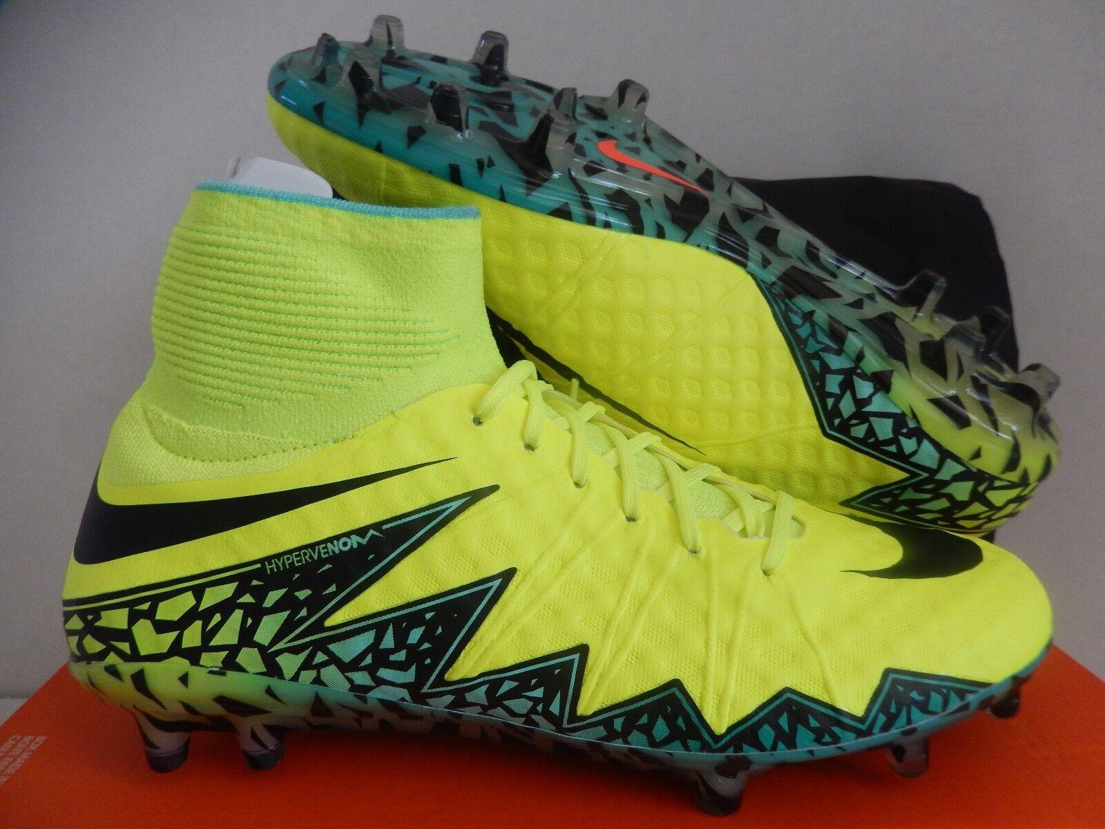 Nike Hypervenom Fantasma II Ojotas-Jade 2 Fg Volt-NEGRO-HYPER Ojotas-Jade II [747213-703] 8c781c