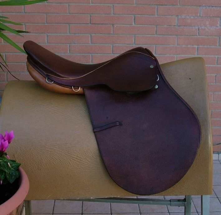Sella Inglese All Purpose Saddle Derby Courbette 17,5