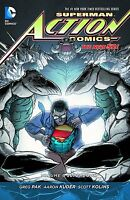 Superman In Action Comics Vol 6: Superdoom By Greg Pak & Scott Kolins Hc 2015 Dc
