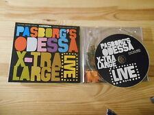 CD Jazz Pasborg Odessa X-Large - Live (10 Song) STUNT SUNDANCE
