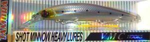 shot minnow heavy h100 36g pesce artificiale pesca spinning spigola mare - Italia - L'oggetto può essere restituito - Italia
