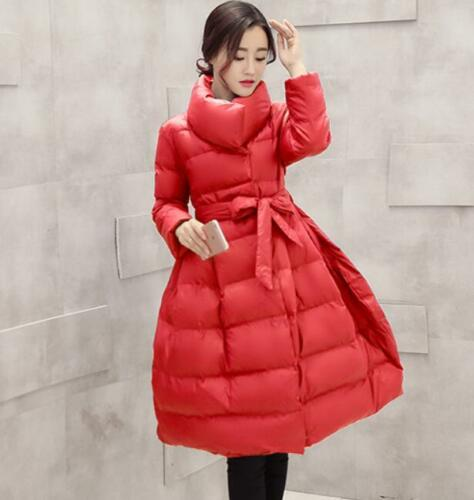 Womens Puffer Polstret Parka A Jacket Chic line Outerwear Coat Winter Down Cotton dXYxRgn