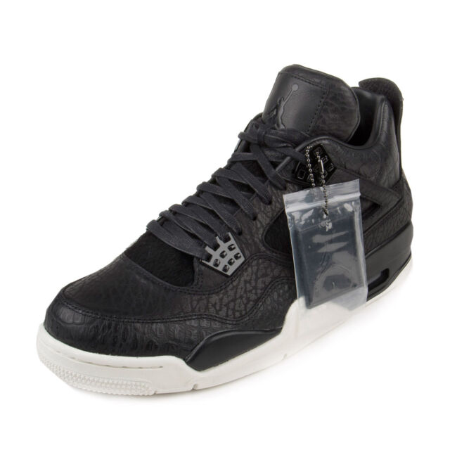 ae06363068f661 Nike Air Jordan Retro 4 IV Premium Black Pony Hair Pinnacle 819139 ...